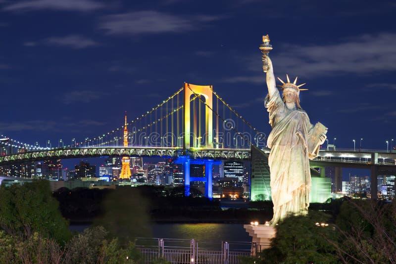 Odaiba,东京 免版税库存图片