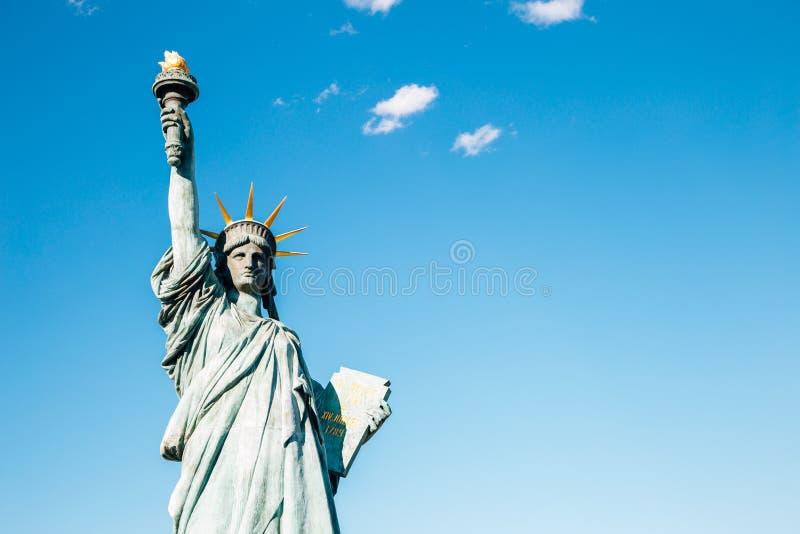 Odaiba statua wolności w Tokio, Japonia fotografia stock