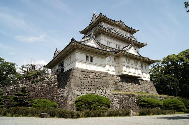 Odawara slott royaltyfria foton