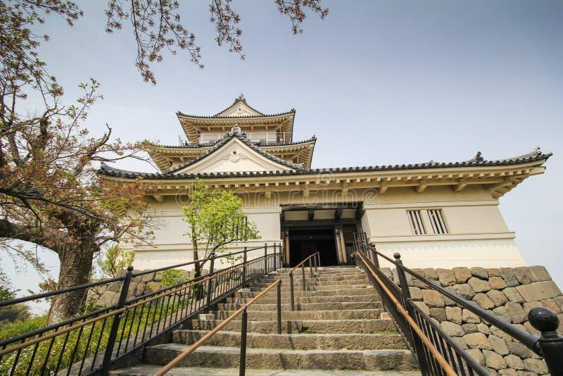 Odawarakasteel, Kanagawa-Prefectuur, Japan stock fotografie