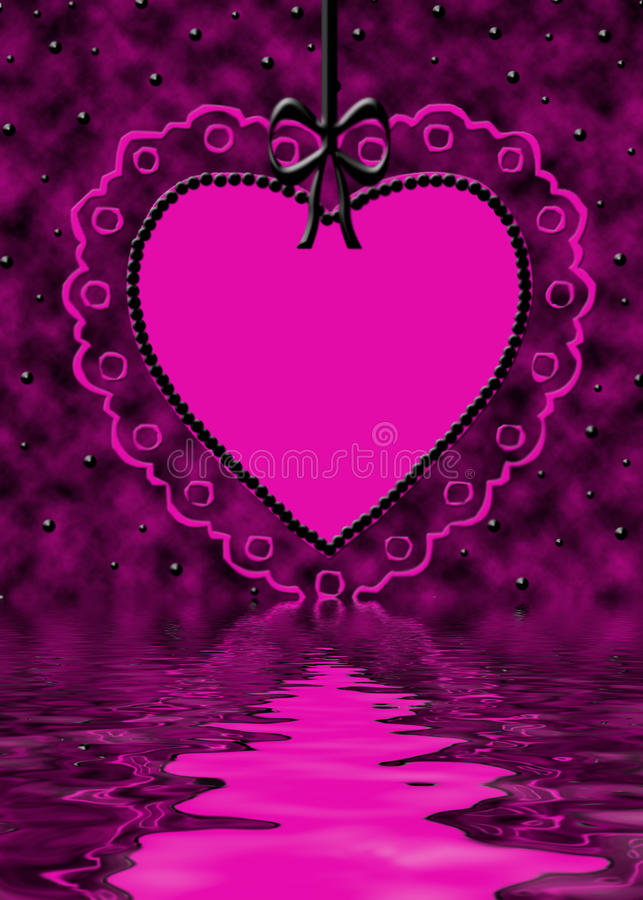 odbicia valentine royalty ilustracja