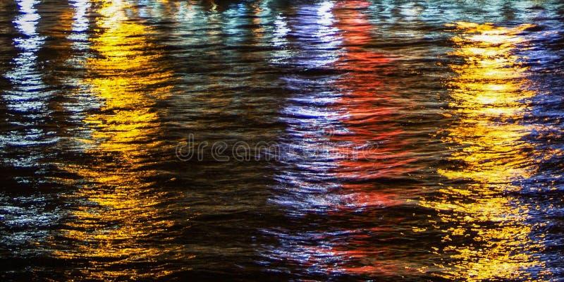 odbicie światła wody obraz royalty free