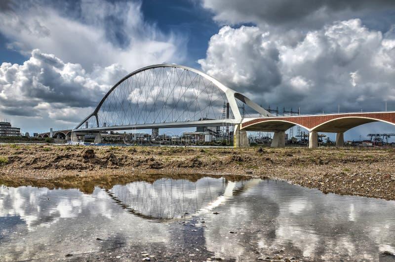 Odbicie bridżowy De Oversteek zdjęcie royalty free