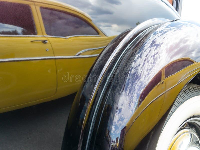 Odbicie, 1957 Chevy zdjęcie royalty free