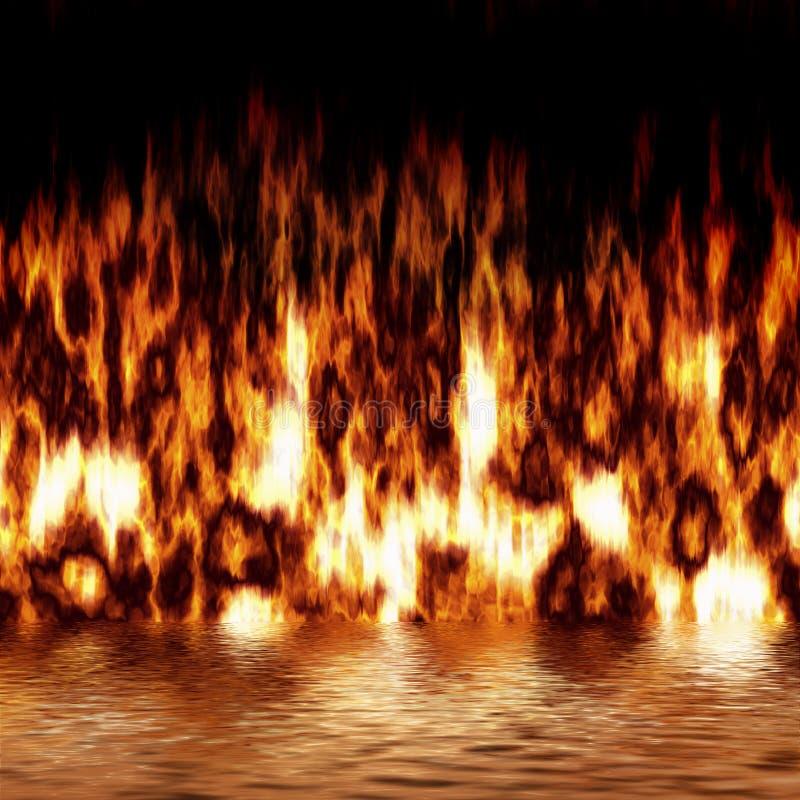 odbicie przeciwpożarowe ilustracji