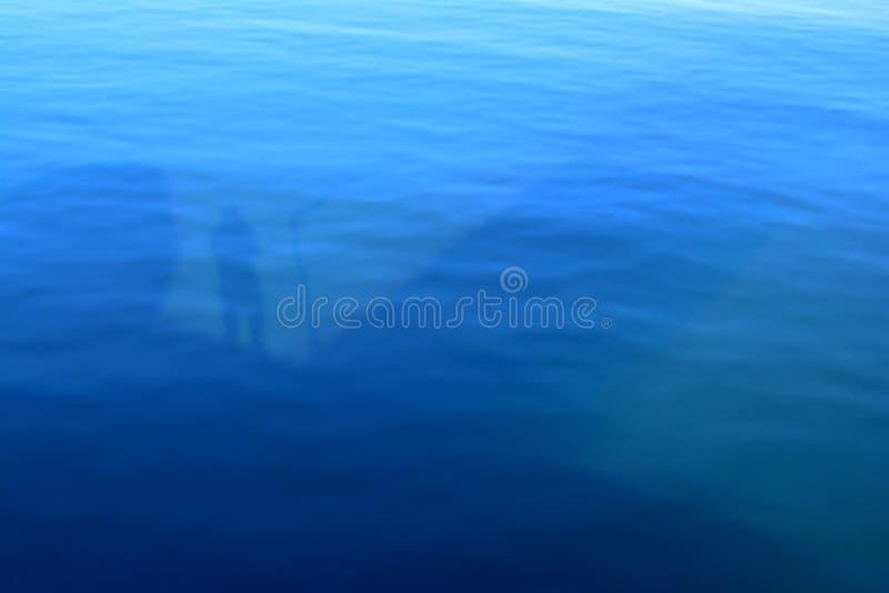 Odbicie w oceanie zdjęcia stock