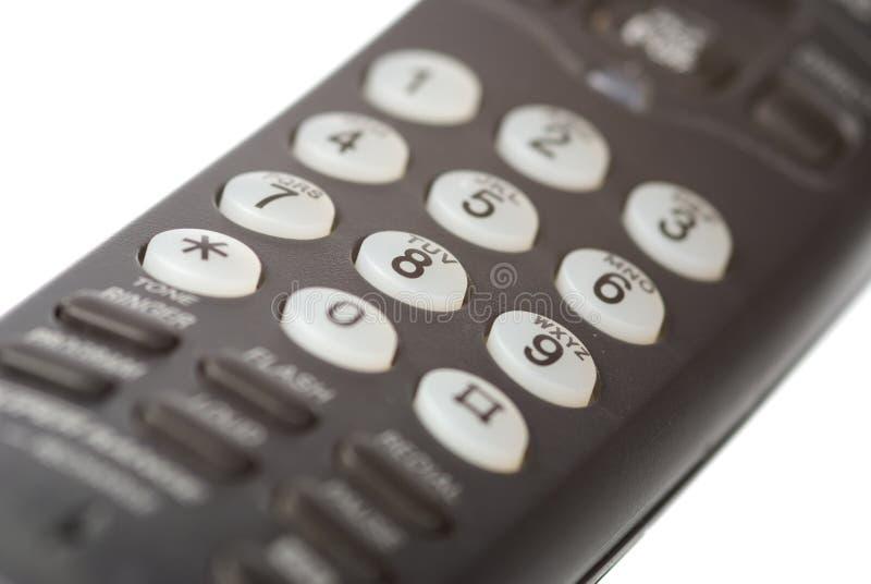 odbiorcy telefon obraz stock