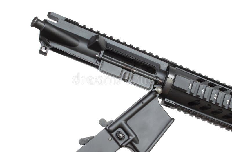 Odbiorniki obrócone w AR-15 zdjęcie stock