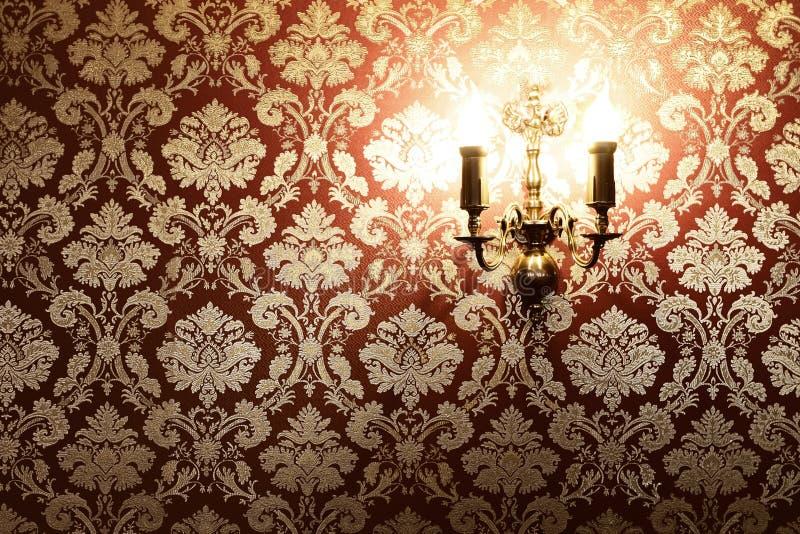 odbitkowej wnętrza przestrzeni elegancki rocznik zdjęcie royalty free