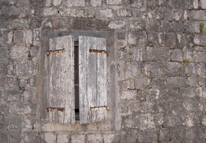 Odchylony okno obraz royalty free