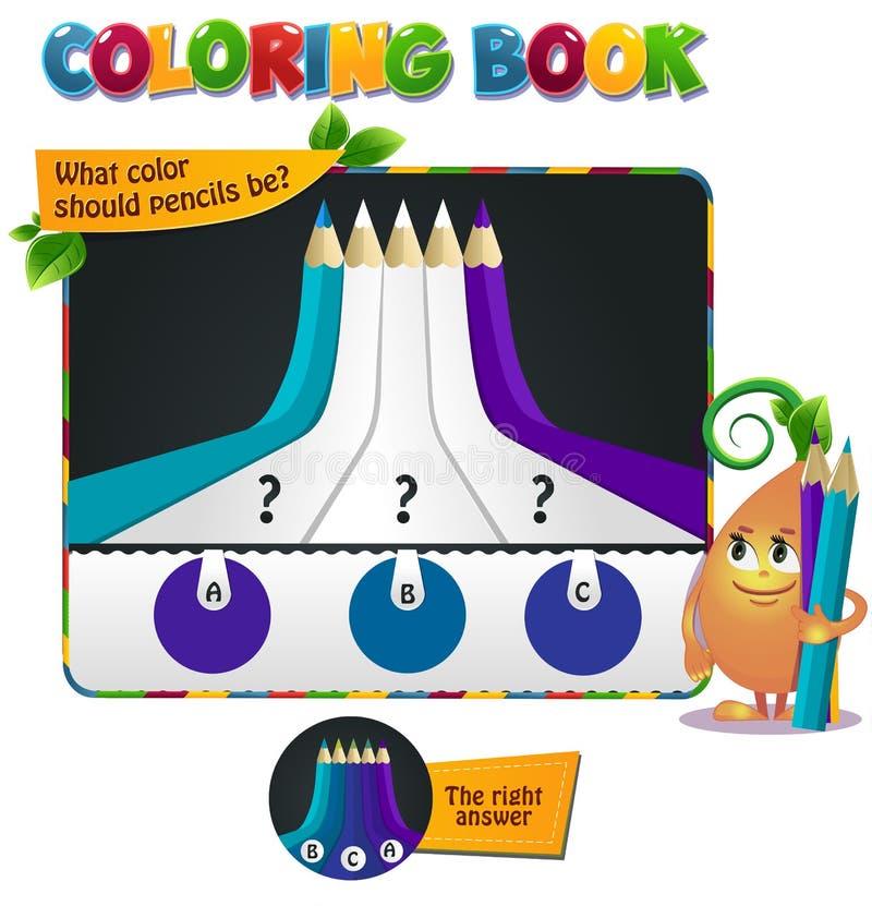 Odcień definici błękita purpury ilustracji