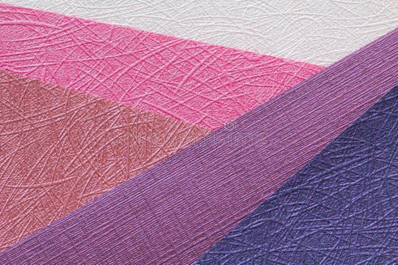 odcieni origami papieru menchie obrazy stock