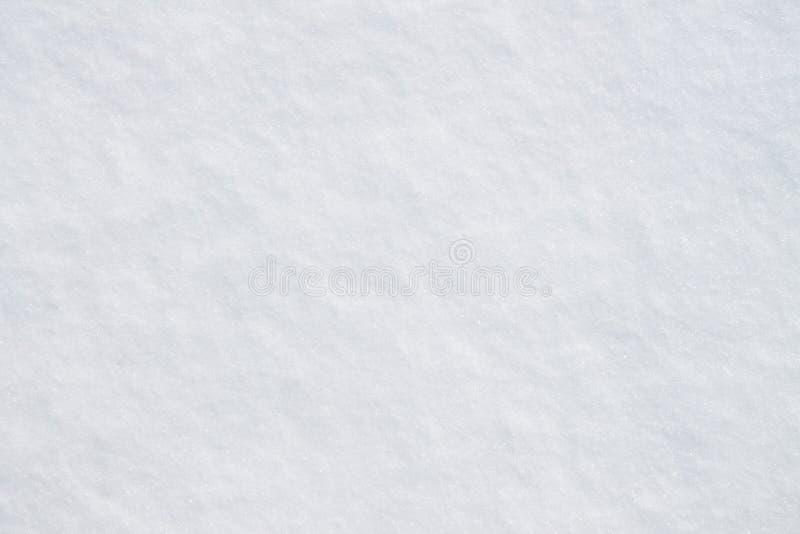 odcisk stopy czasu zimy śniegu zdjęcie stock