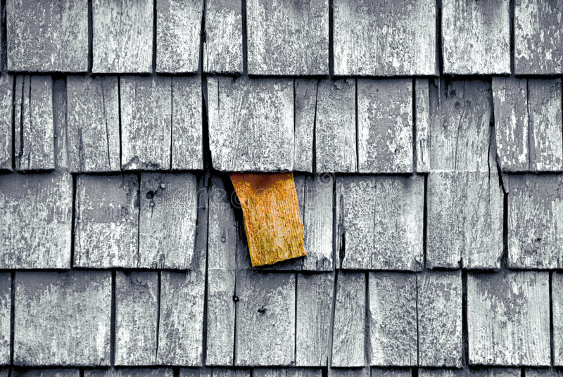 Download Odd man out stock image. Image of shingles, cedar, architecture - 6049373