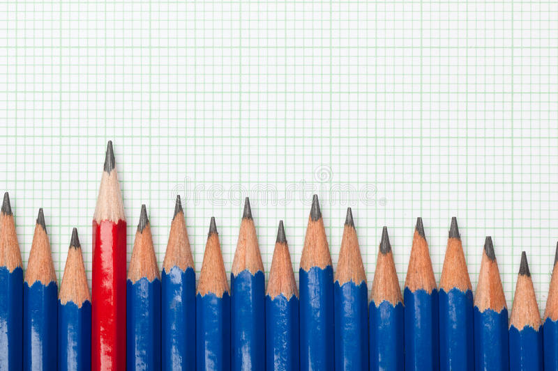 Download Odd one out stock photo. Image of difference, sharpen - 24615246