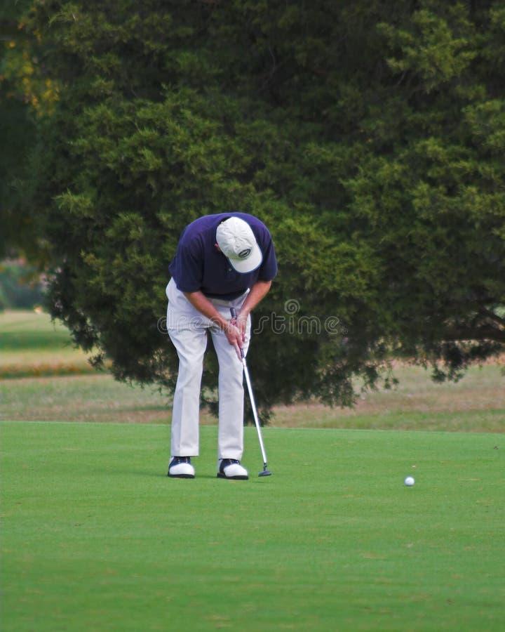 oddanie w golfa obrazy royalty free