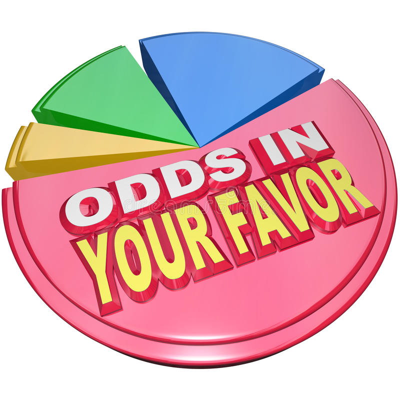 Free Odds In Your Favor Pie Chart Advantage Competition Stock Photo - 31479120