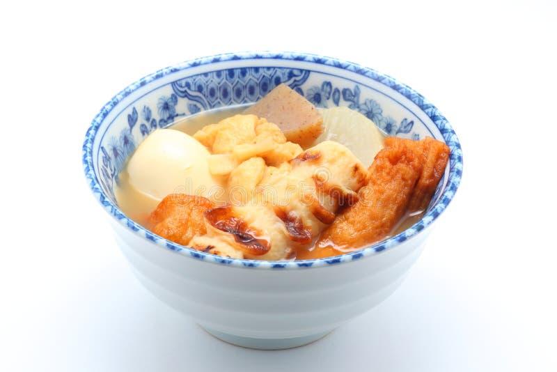 Oden, japanische Nahrung lizenzfreies stockbild