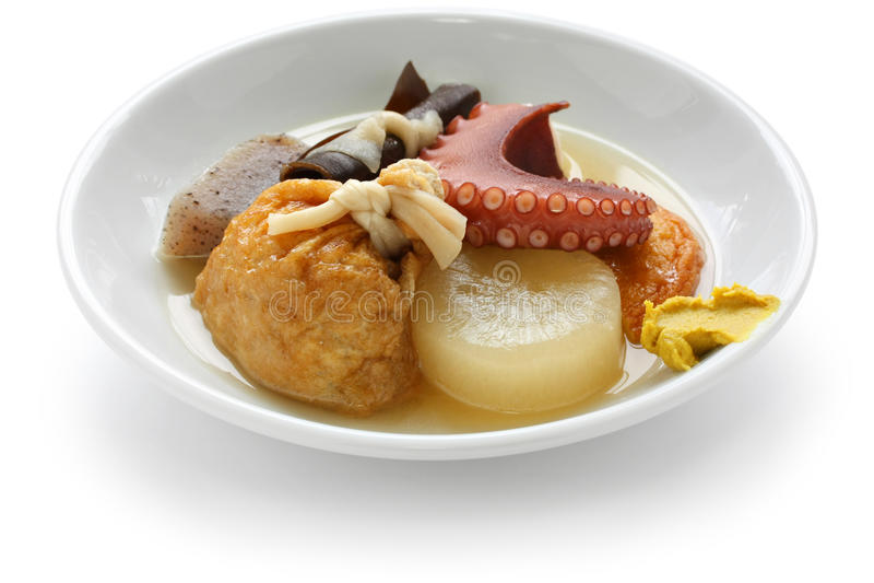 Oden, Japans voedsel royalty-vrije stock foto's