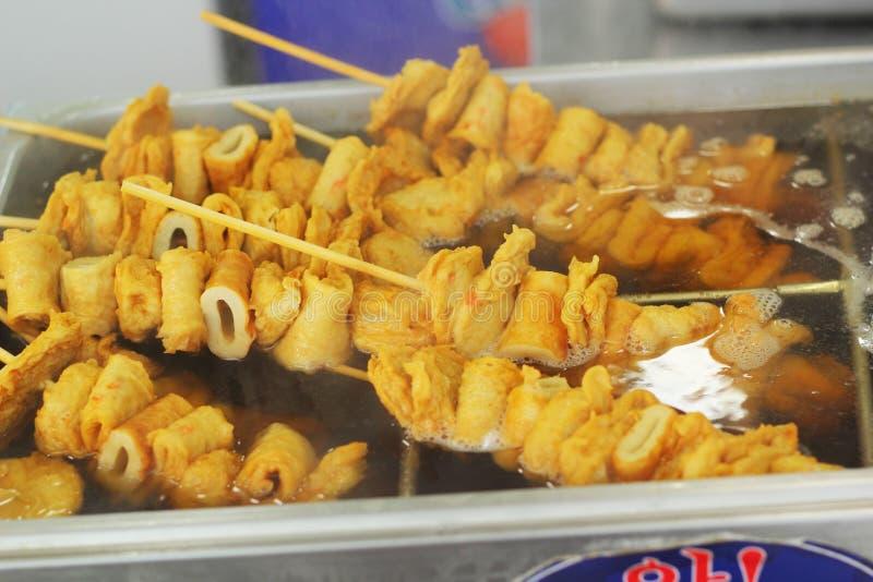 Oden no mercado Coreia. fotos de stock royalty free