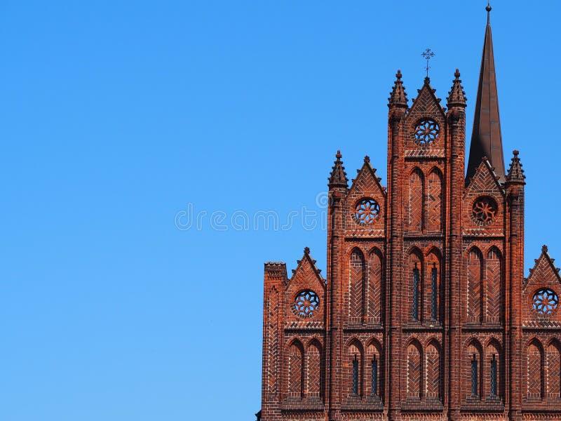 Odense urząd miasta w Dani fotografia stock