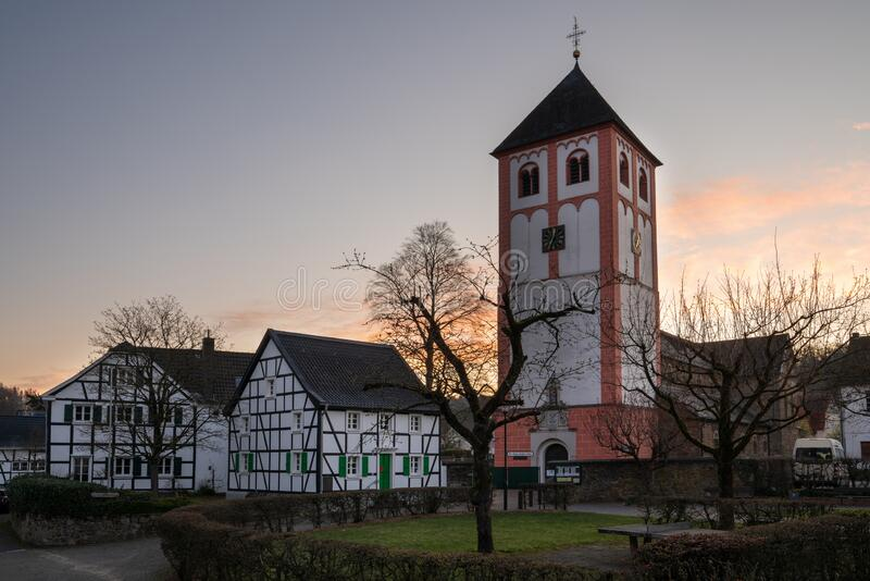 Odenthal, Bergisches Land, Germany royalty free stock images