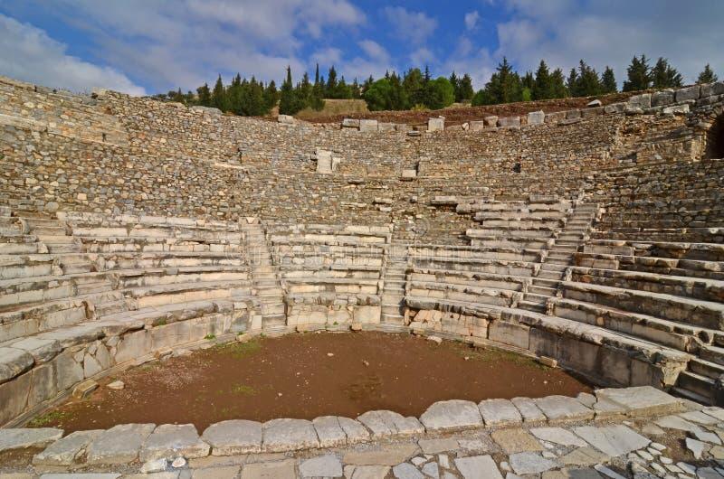 Odeon на Ephesus стоковое фото rf