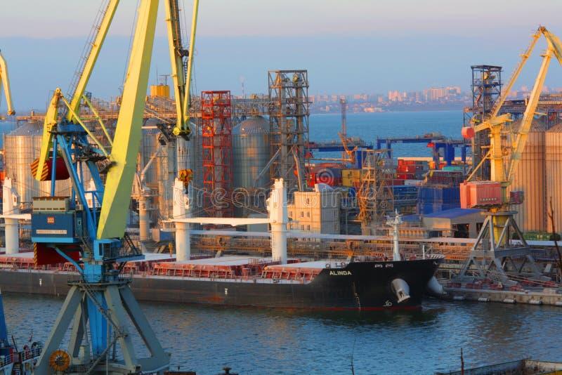 Odess港  库存照片
