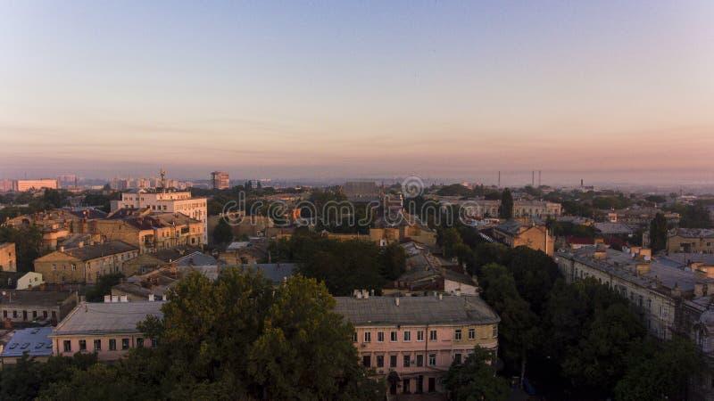 Odessa aérien, Ukraine image stock