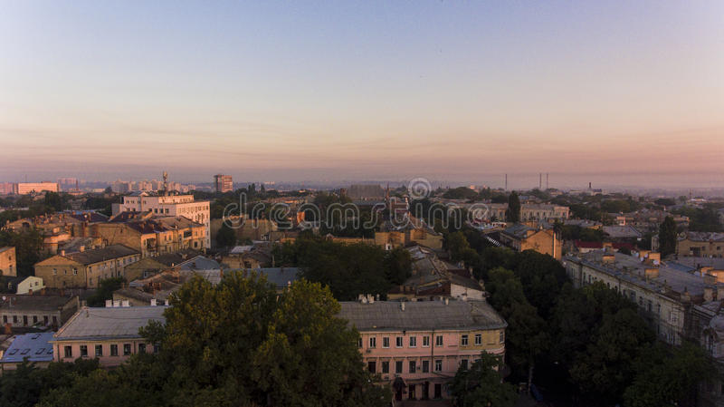 Odessa aerea, Ucraina immagine stock