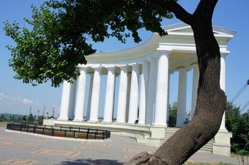 Odessa columns royalty free stock images
