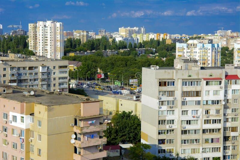 Odessa, de Oekraïne - Augustus 8, 2018 E r stock foto