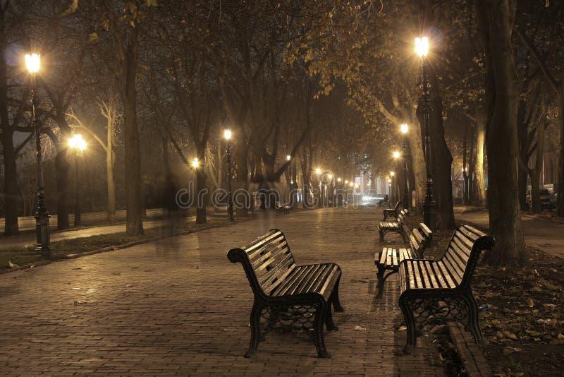 Odessa_fog03 fotografía de archivo