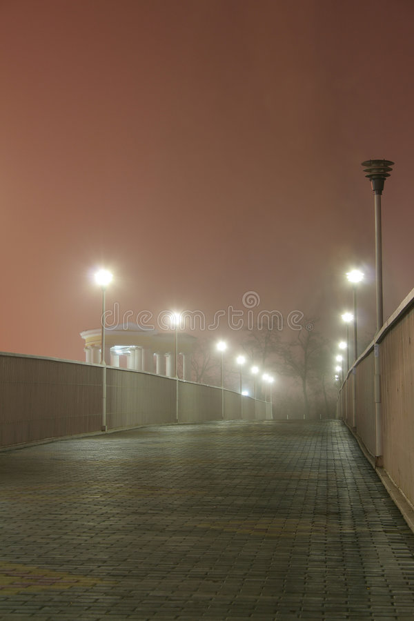 Odessa_fog02 royalty free stock photos