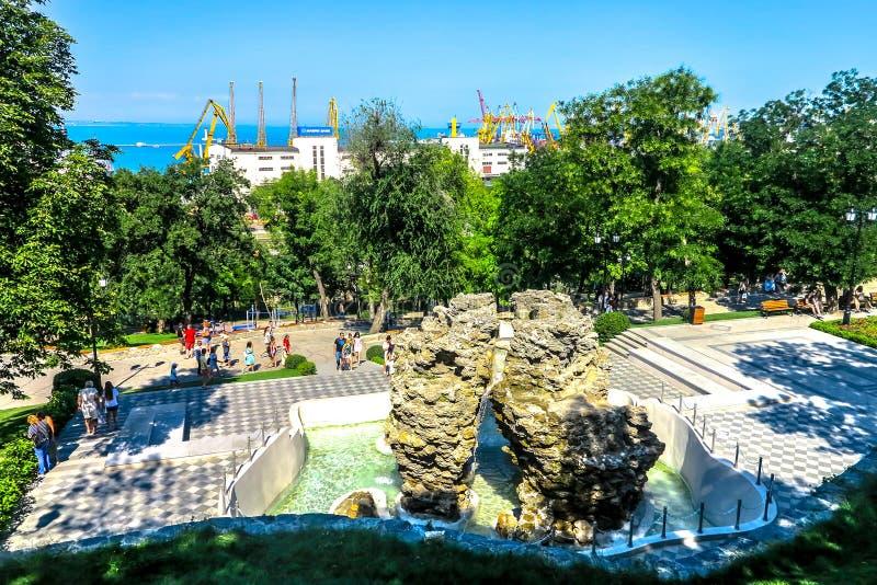 Odessa Istanbuł park 02 obraz royalty free