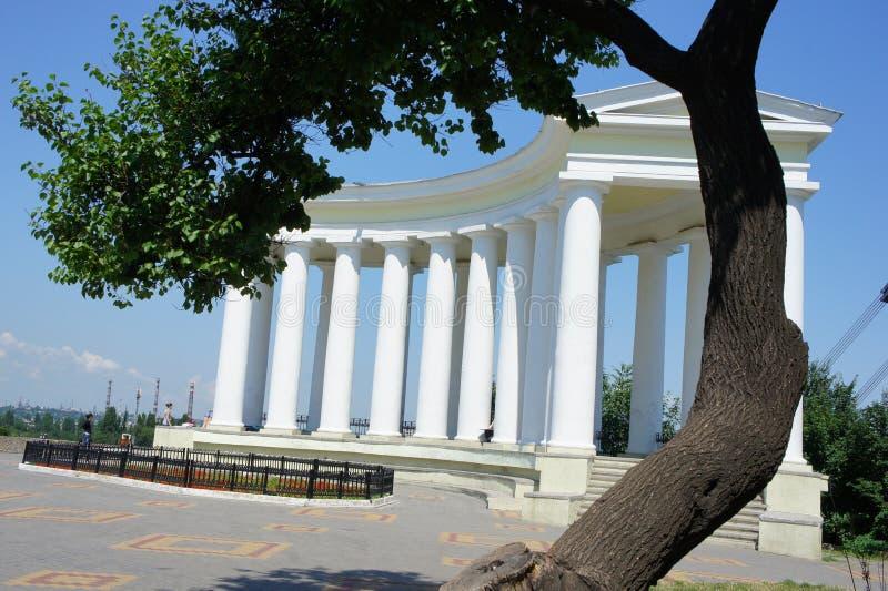 Odessa kolonner royaltyfria bilder