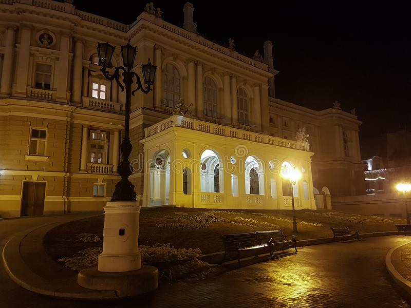 Odessa National Academic Opera and Ballet Theater royalty free stock image