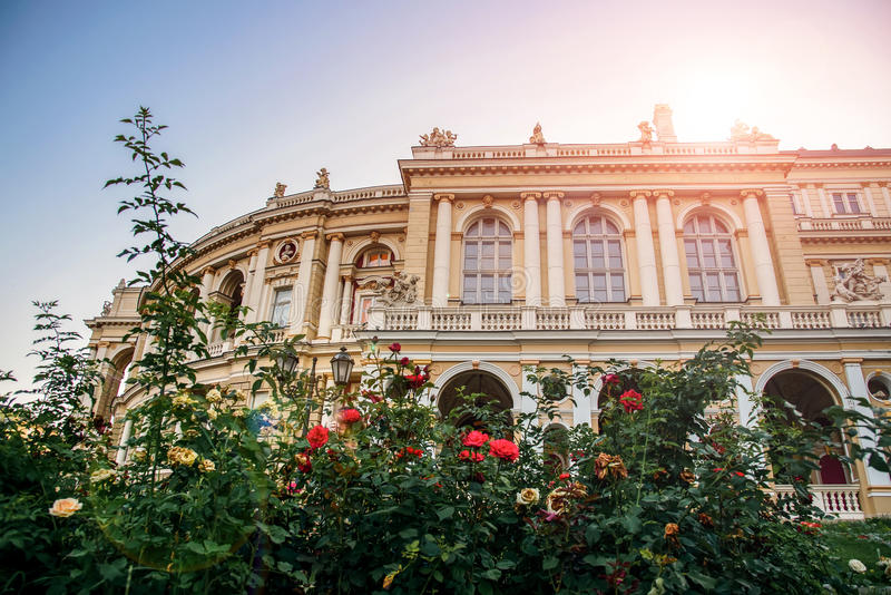 Odessa National Theater of Ballet and Opera royalty free stock image