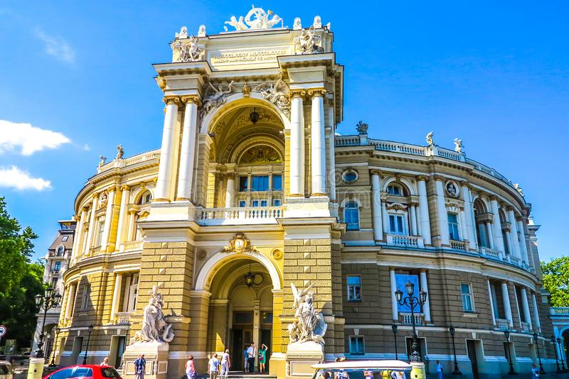 Odessa National Theater 01 royalty free stock image