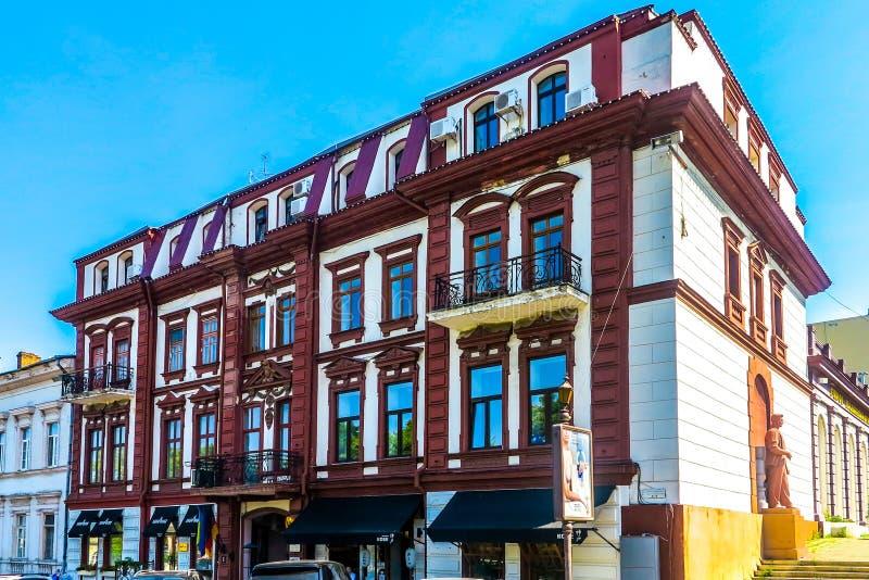 Odessa Neoklasyczny budynek 01 obraz stock