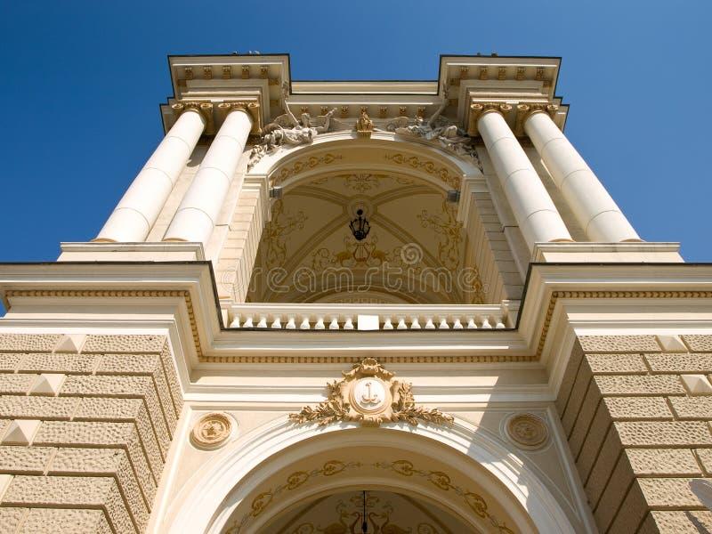 odessa opery theatre zdjęcia royalty free