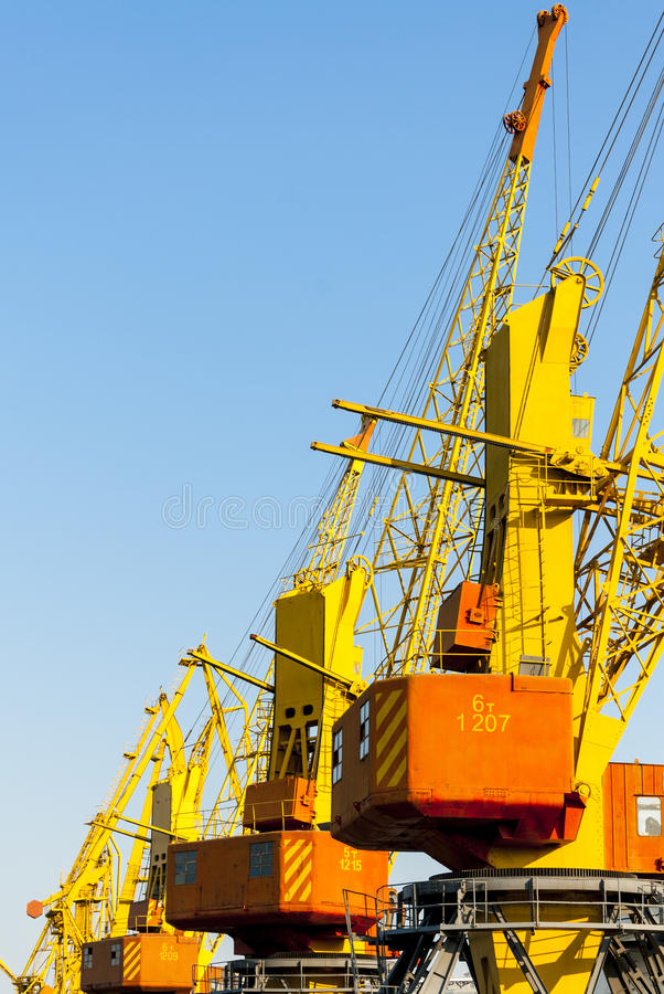 Download Odessa port stock photo. Image of machinery, industrial - 33459478
