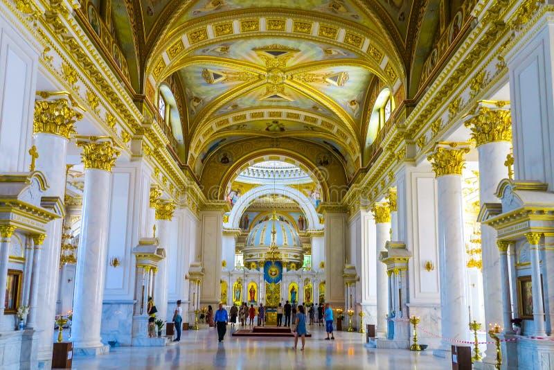 Odessa Spaso Preobrazhensky katedra 03 obrazy royalty free