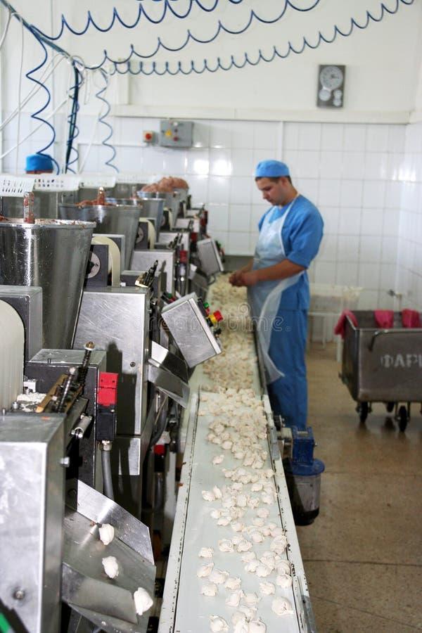 Odessa, Ucrania - 7 de julio de 2007: La fábrica para la producción o imagenes de archivo