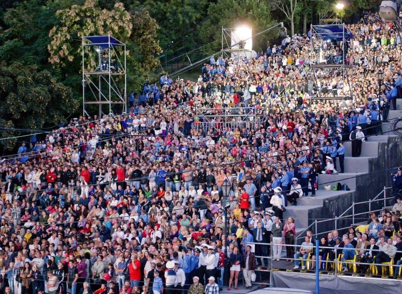 ODESSA, UKRAINE 2. SEPTEMBER: Stadtgeburtstag stockbild