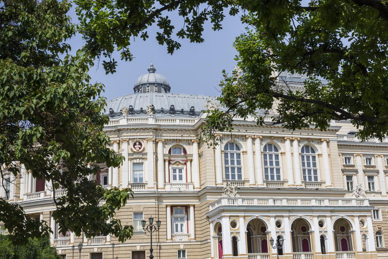 Download ODESSA, UKRAINE - 2 AOÛT 2016 : Odessa National Academic T Photo stock éditorial - Image du europe, grand: 76085368