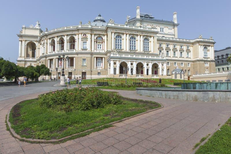 Download ODESSA, UKRAINE - 2 AOÛT 2016 : Odessa National Academic T Photographie éditorial - Image du russia, construction: 76085512