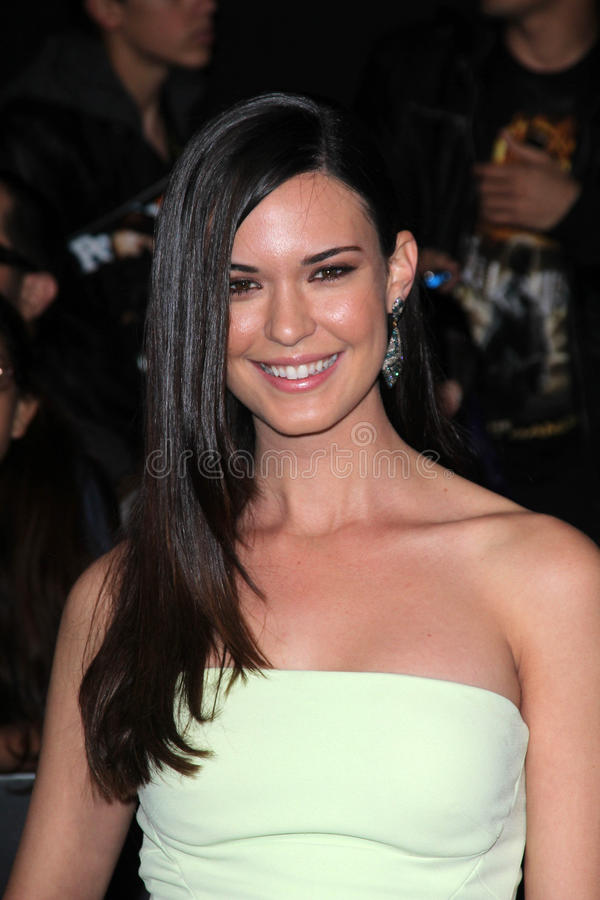 Download Odette Annable editorial stock photo. Image of games - 25258553