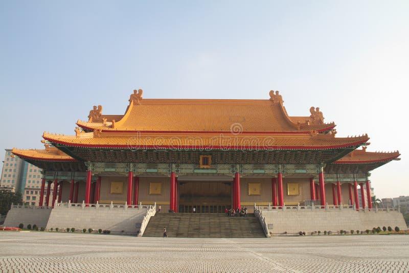 Odeum en Theater van Taiwan stock foto