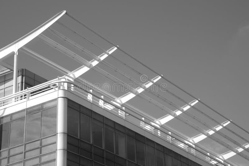 Odf arquitectónico de los detalles el tejado de un buiding fotos de archivo